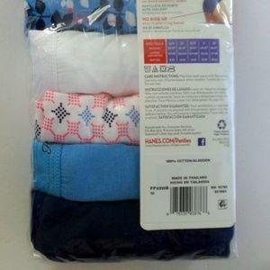 dcb0d392e784 Hanes Intimates & Sleepwear - HANES Women's 6 Pack Cotton Hi-Cuts SIZE ...